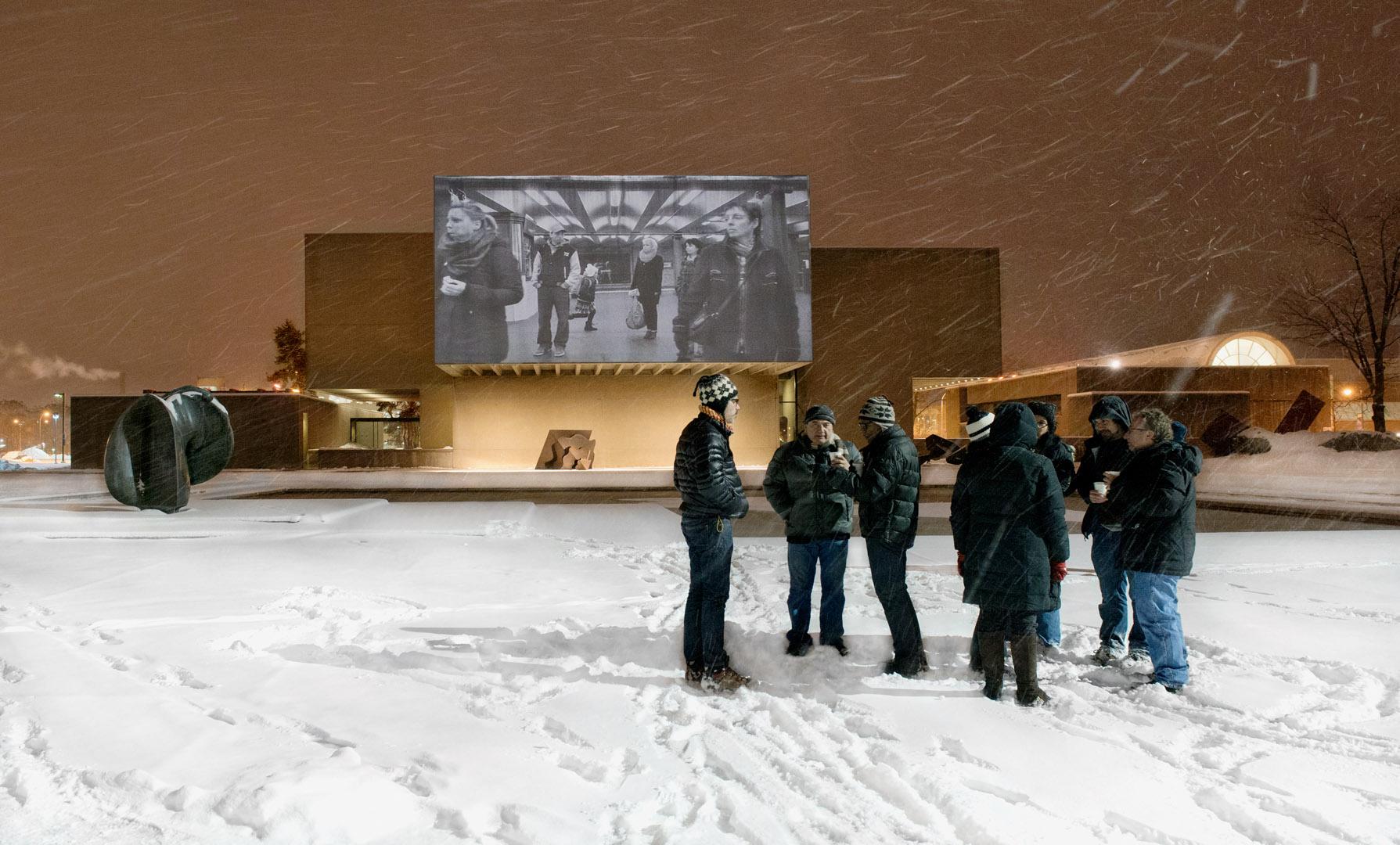 Adam Magyar UVP Urban Video Project Everson Museum