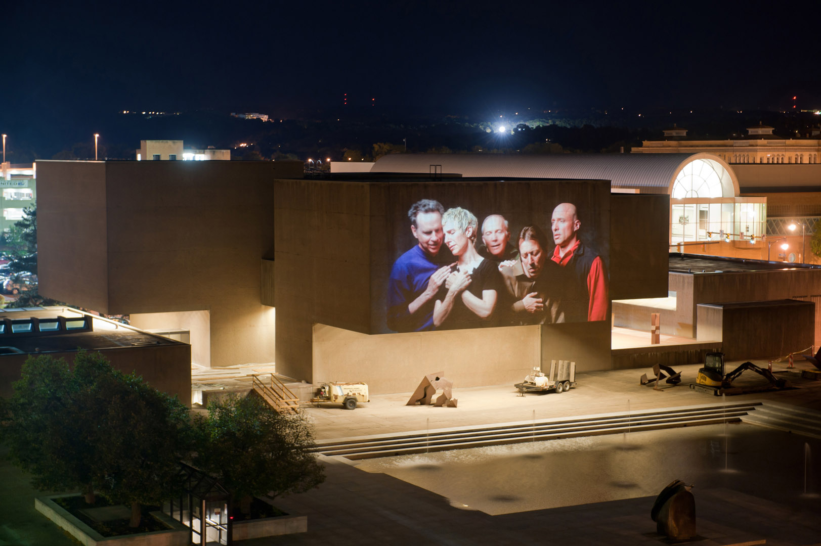 Urban Video Project Bill Viola Everson Museum Exterior From roof Of Steam Station