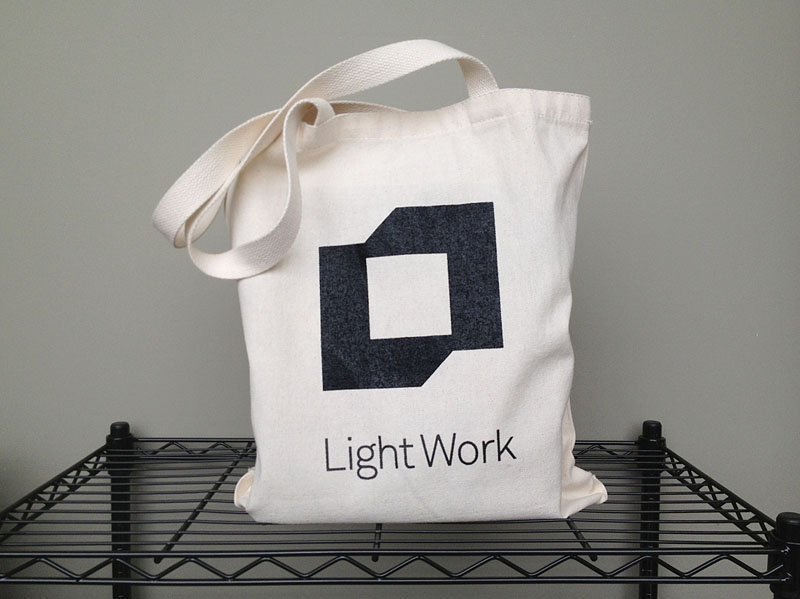 Light Work tote bag