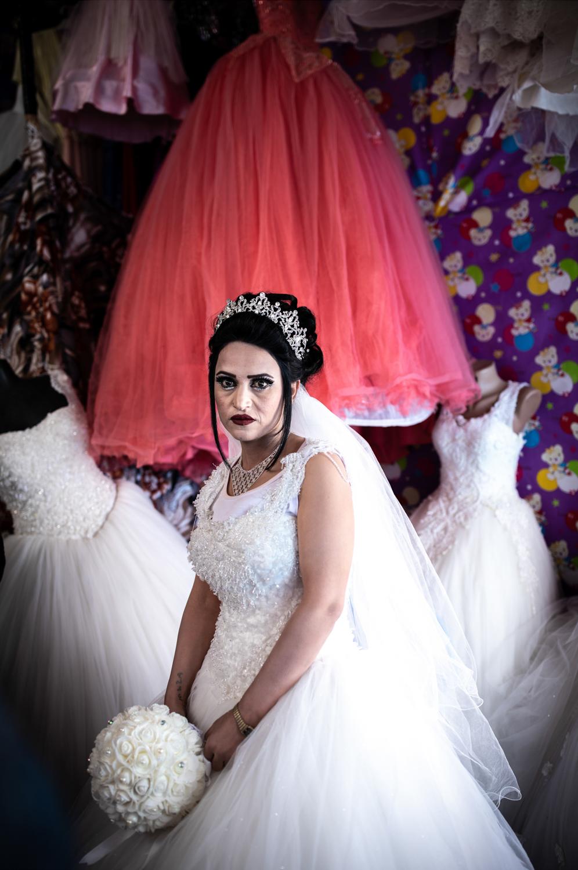 Amera, a Yazidi bride. Iraqi Kurdistan