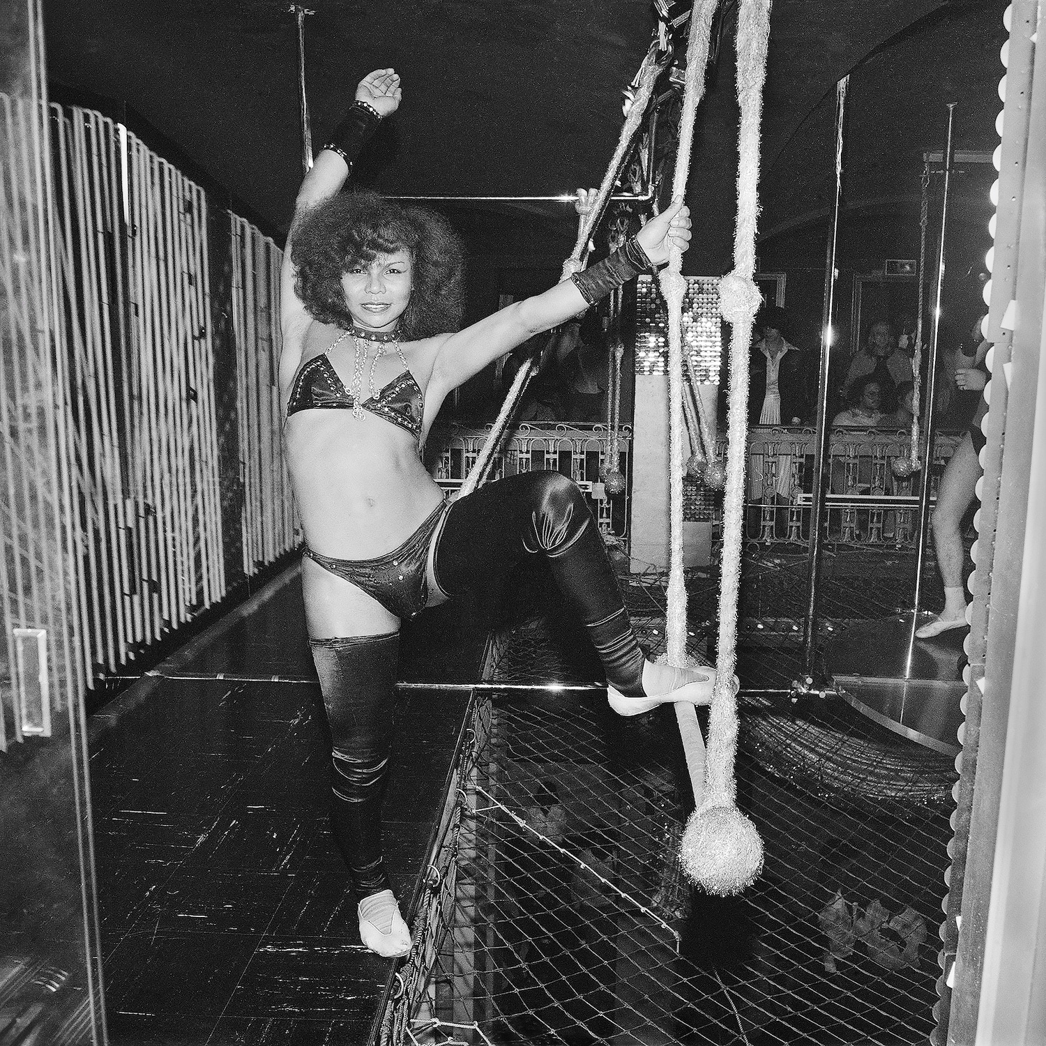 Trapeze Artist on A Night We Were Rejected from Studio 54